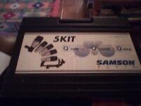 Samson 5kit Drum Microphones