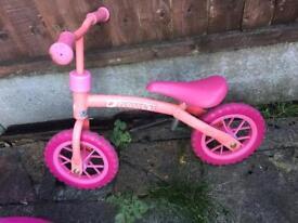 Haul balance bike pink