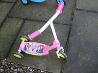 Pink Minnie Mouse Toddler Scooter