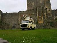 1984 Volkswagen t25 1.6d Devon pop up roof camper 4 berth may px for recovery lorry