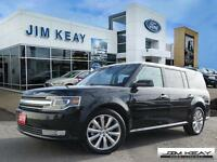 2015 Ford Flex LIMITED AWD W/ NAV, ROOF & ECOBOOST. FORMER FORD