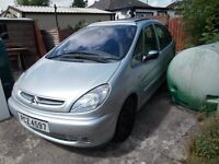 2002 CITREON PICASSO 2.0 HDI EXCLUSIVE £650.00