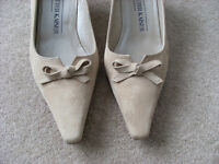 Sand Coloured shoes size 4.5 Peter Kaiser