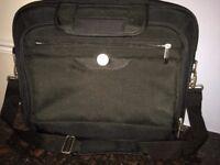 Unused Dell canvas laptop bag - excellent condition!