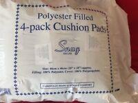 4 Cushion pads