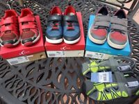 Boys Shoes size 3 and 1.5