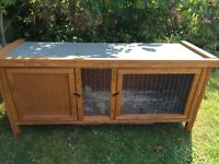 Guinea pig /rabbit hutch