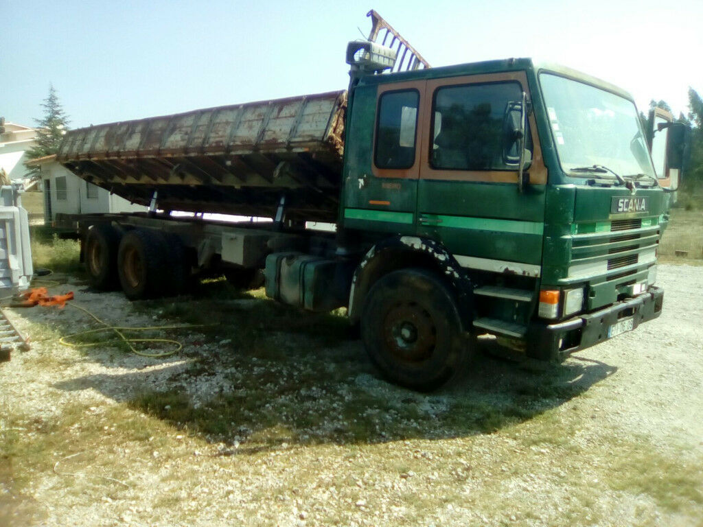 Left hand drive Scania 82 210 Turbo Intercooler 10 tyres 26 ton tipper. | in Brentwood, Essex ...