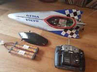 Hand-built remote control powerboat (RC boat, toy, hobby) - FAST!!!