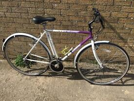 Mens Raleigh Pioneer Hybrid. Great condition. Free D-Lock & Delivery. Warranty