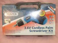 Cordless battery screwdriver
