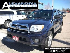 2007 Toyota 4Runner V6 SR5 sunroof extra clean safety included