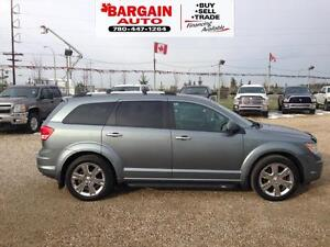2010 Dodge Journey LEATHER,MOON ROOF,6 CYL,NAVIGATION,AWD