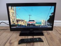 "22"" Full HD LED Bush TV Television in excellent condition"