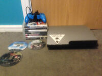 Playstation 3 (wrapped in carbon fibre)