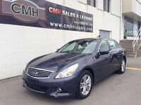 2011 Infiniti G37X PREMIUM AWD NAV CAM LEATH ROOF (CERTIFIED)