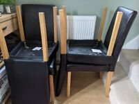 Dinning table and 4 Chairs £30. Collection only, available now