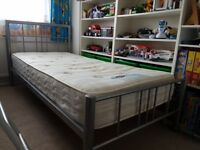 Single bed with good quality mattress