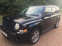 2008 JEEP PATRIOT SPORT 2.0 CRD BLACK 4x4 full service history 12 month mot no advisory