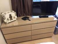 6 drawer ikea unit