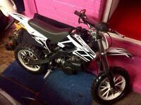 Mini-moto crosser 50cc