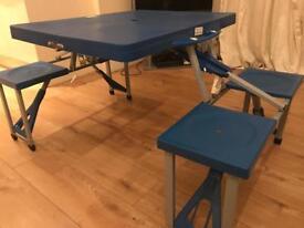 Folding Table/Garden Bench
