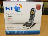 BT 4500 Telephone for the Hard of Hearing / Deaf