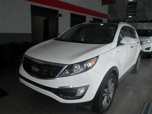 2014 Kia Sportage SX Premium | Turbo | NAV | Leather | Pano Roof