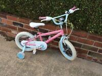 Girls bike 3yrs+