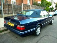 1996 Mercedes E220 Sportline Cabriolet Auto Drives Well Needs TLC W124