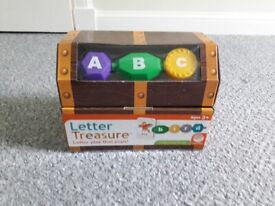 Pirate educational toy letters/spelling