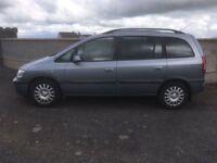 2005 Vauxhall Zafira 2.0 DTi Turbo Diesel, 7 Seater, 5 Months Mot