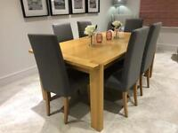 M&S Sonoma extendable dining table