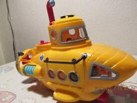 Fisher Price Yellow Submarine