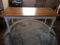 Farmhouse Kitchen Table 6ft x 2.5ft