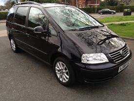 automatic VW sharan SE great 7 seats best of all time cheep to run full mot