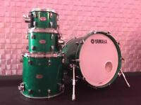 Yamaha Absolute Hybrid Maple - Jade Green Sparkle