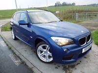 BMW X1 2.0 XDRIVE20D M SPORT 5d AUTO 174 BHP 6 Month RAC Parts & Labour Warranty