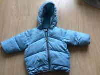 Baby boy jackets bundle 3-6, 6-9, 9-12m + baby bjorn baby carrier