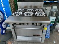 HIGH POWER GAS COOKER UNDER OVEN CATERING COMMERCIAL SHOP CAFE KEBAB CHICKEN