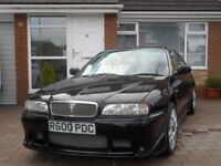 rover 620ti 1998 `R`reg.manual. black 66819mls 10mth mot excellent condition. £1795.00. ono.