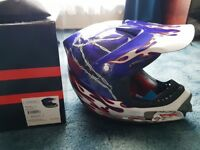 Boys/Youth large Full BMX Helmet