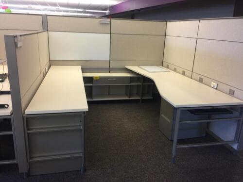 Used Office Cubicles, Herman Miller Canvas Cubicles 8x8