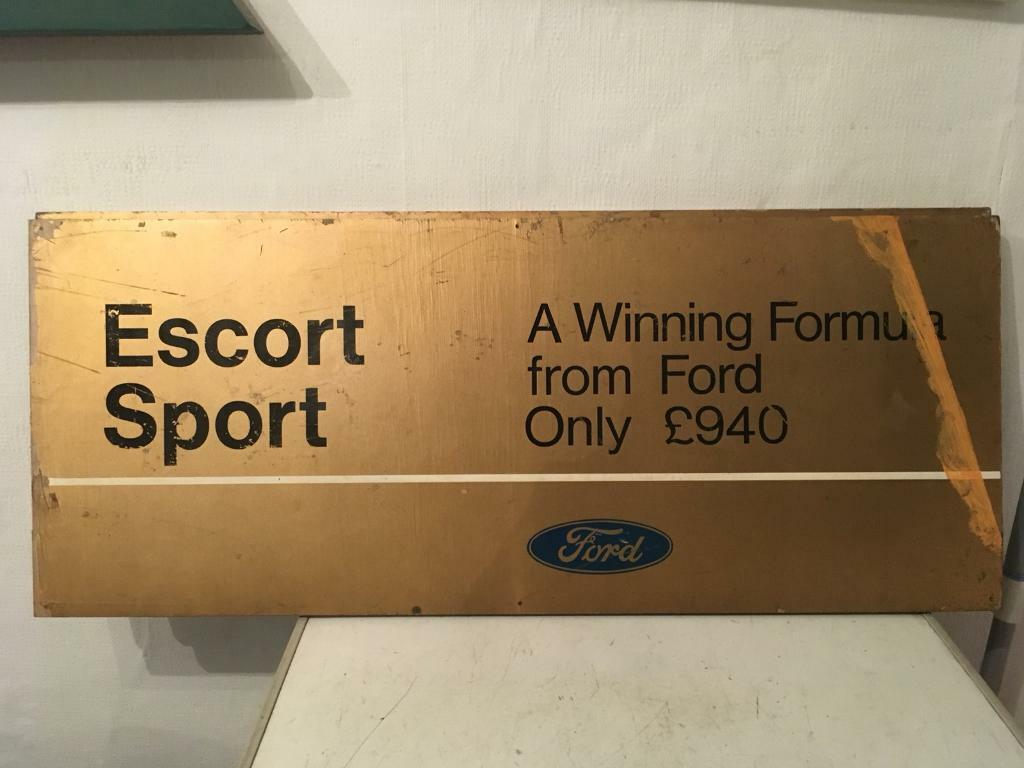 Vintage ford signs
