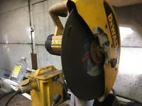 """Dewalt 14"""" disc cutter 110v transformer"""