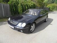 Mercedes CL500 Coupe 2001/51 reg,lovely car very high spec/extras, long mot,service history