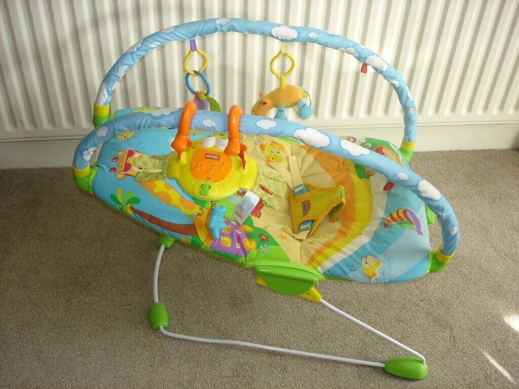 9c4be76be159  TINY LOVE  GYMINI BOUNCER CHAIR.