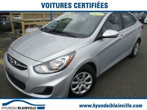 2014 Hyundai Accent GL BLUETOOTH,BANCS CHAUFFANTS,A/C