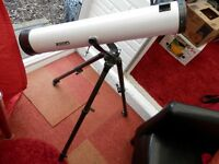 JESSOPS = TELESCOPE ON A TRIPOD WITH ATTACHMENTS