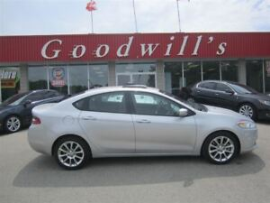 2013 Dodge Dart LIMITED! CLEAN CARPROOF! HEATED LEATHER SEATS!